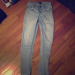 Vintage light wash jeans
